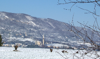 PANORAMICA INVERNALE DELLE DUE CHIESE